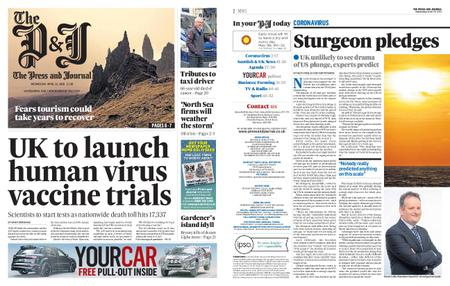 The Press and Journal Moray – April 22, 2020