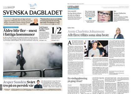 Svenska Dagbladet – 03 januari 2018