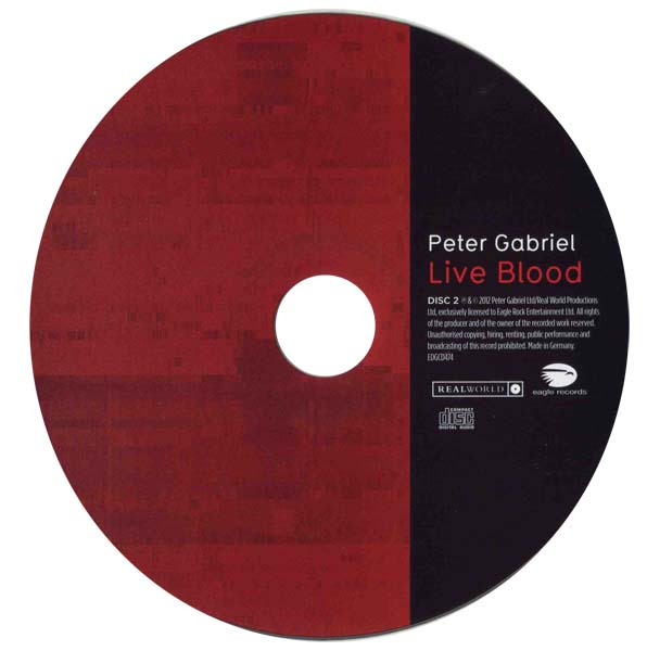 Peter Gabriel - Live Blood (2012) / AvaxHome