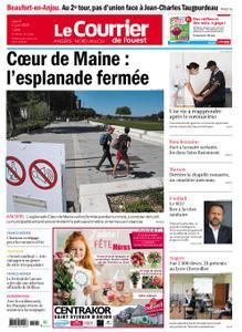 Le Courrier de l'Ouest Angers – 04 juin 2020