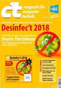 c't Magazin Nr.12 - 26 Mai 2018