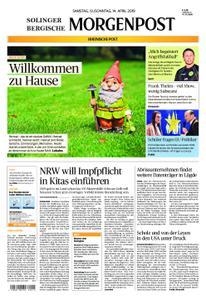 Solinger Morgenpost – 13. April 2019