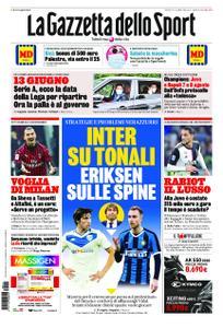 La Gazzetta dello Sport Roma – 14 maggio 2020