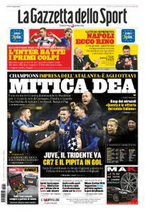 La Gazzetta dello Sport – 12 dicembre 2019