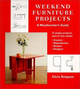 Weekend Furniture Projects