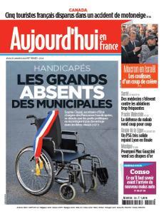 Aujourd'hui en France - 23 Janvier 2020