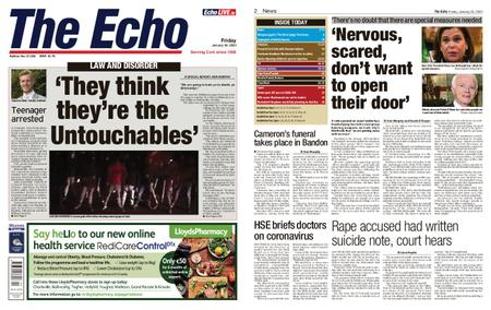Evening Echo – January 24, 2020
