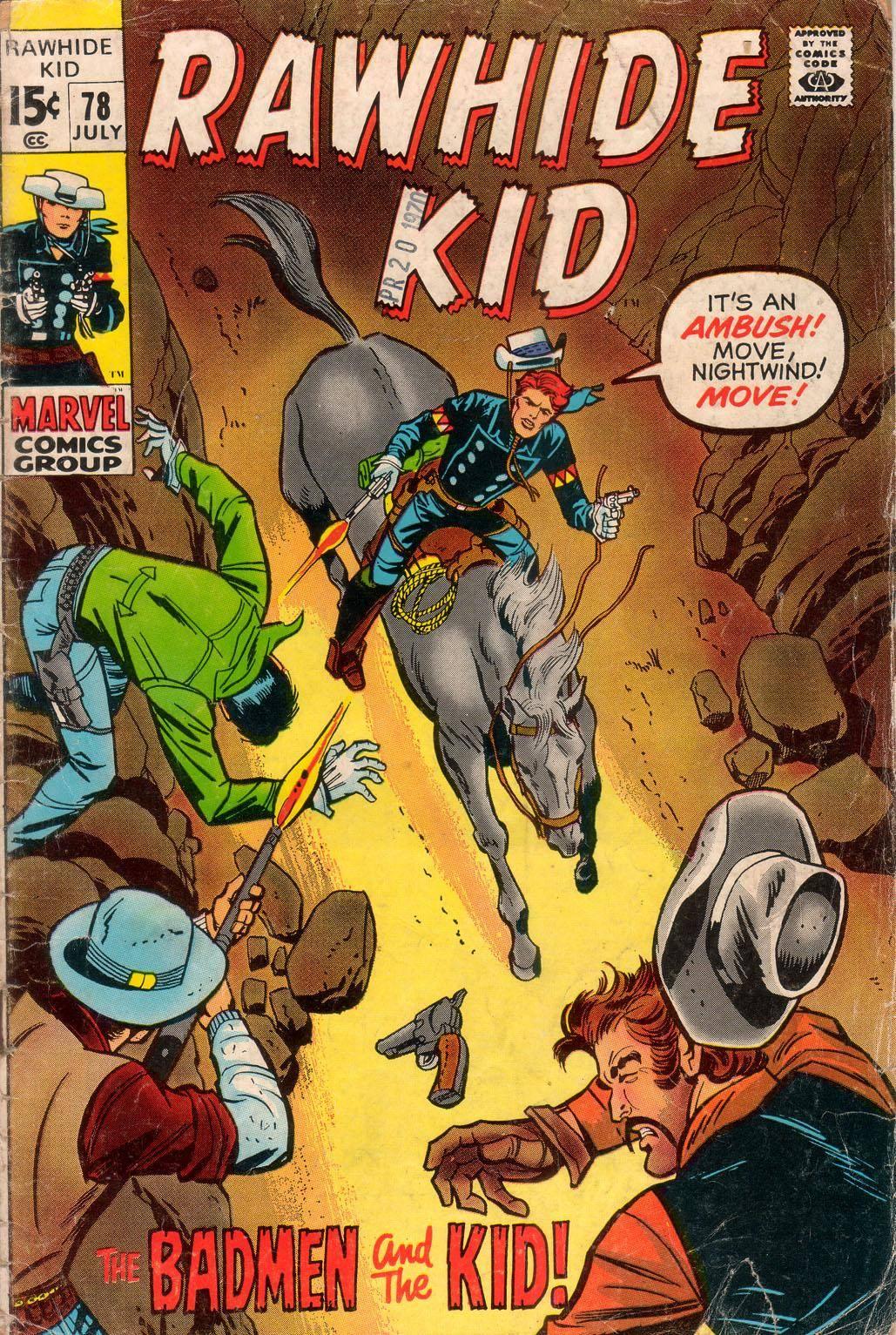 Rawhide Kid v1 078 1970