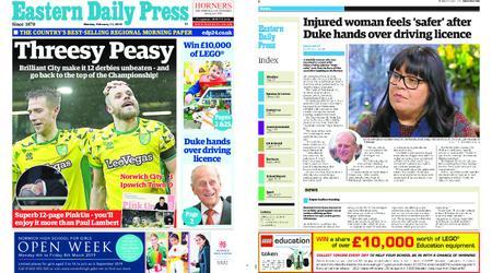 Eastern Daily Press – February 11, 2019