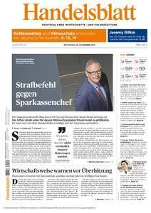 Handelsblatt - 08. November 2017