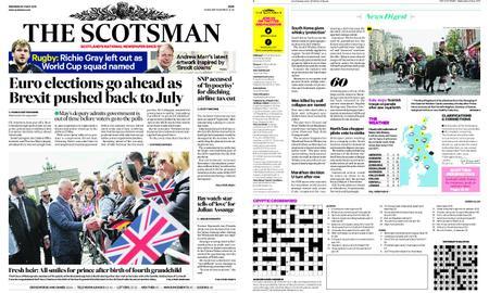 The Scotsman – May 08, 2019