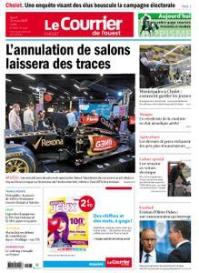 Le Courrier de l'Ouest Cholet – 12 mars 2020