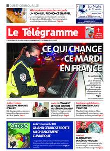 Le Télégramme Ouest Cornouaille – 15 décembre 2020