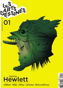 Les Arts dessinés N°01 - Dec-Janvier 2017-2018