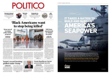 Politico – June 09, 2020