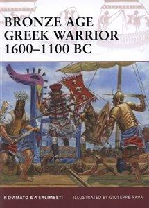 Bronze Age Greek Warrior 1600-1100 BC (Osprey Warrior 153) (repost)