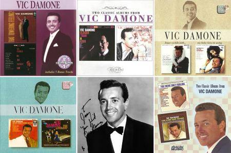 Vic Damone - Albums Collection 1956-1965 (5CD) 10 Classic Albums on 5CDs, Remastered Reissue 1997-2003