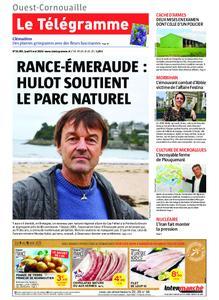Le Télégramme Ouest Cornouaille – 09 mai 2019