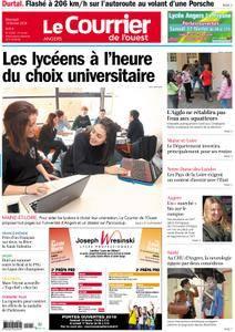 Le Courrier de l'Ouest Angers - 14 février 2018