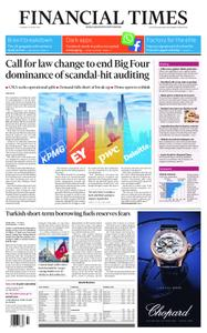 Financial Times UK – April 18, 2019