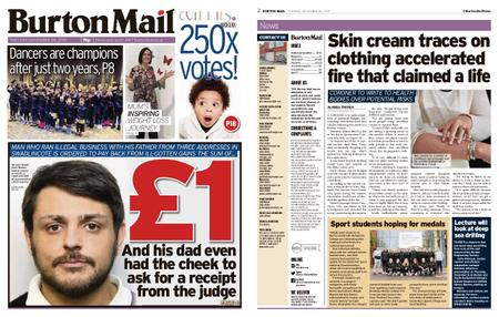 Burton Mail – November 26, 2019