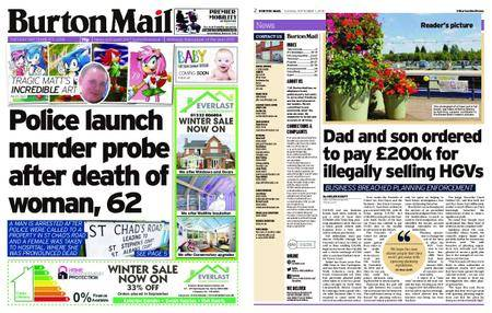 Burton Mail – September 11, 2018