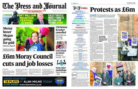 The Press and Journal Moray – February 15, 2018