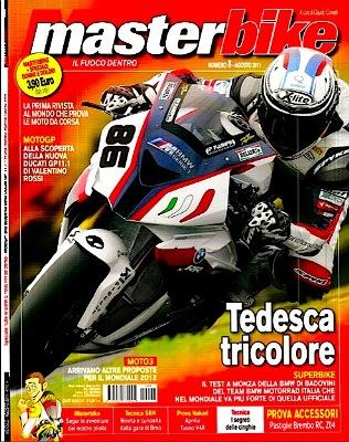 Masterbike - Agosto 2011 - Speciale: alla scoperta della nuova Ducati GP11 di Valentino Rossi