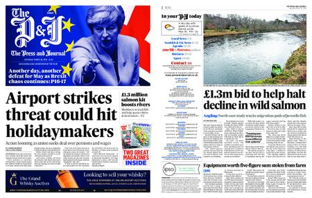 The Press and Journal Moray – March 30, 2019