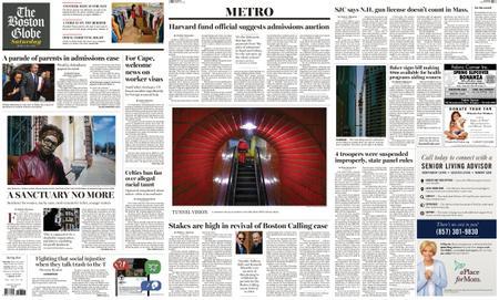 The Boston Globe – March 30, 2019