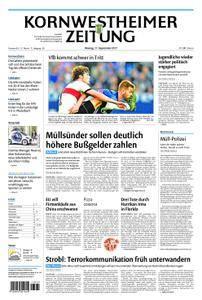 Kornwestheimer Zeitung - 11. September 2017