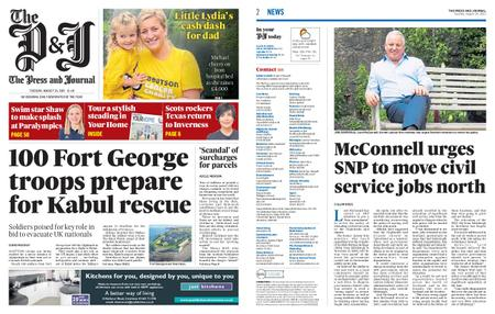 The Press and Journal Moray – August 24, 2021