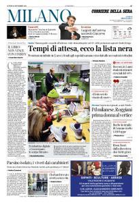 Corriere della Sera Milano – 19 novembre 2018