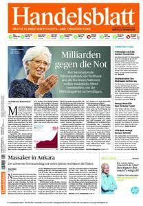 Handelsblatt - 12. Oktober 2015