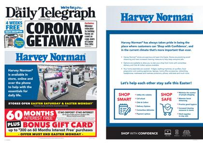 The Daily Telegraph (Sydney) – April 09, 2020