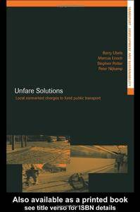 Unfare Solutions: Local Earmarked Charges to Fund Public Transport (Repost)