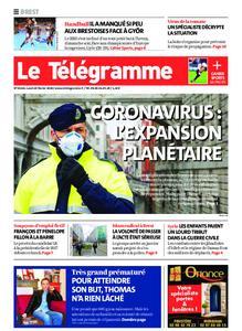 Le Télégramme Brest – 24 février 2020
