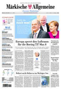 Märkische Allgemeine Zossener Rundschau - 13. März 2019