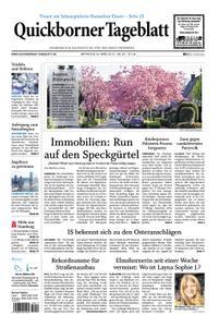 Quickborner Tageblatt - 24. April 2019