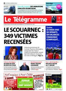Le Télégramme Concarneau – 21 décembre 2019