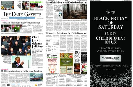 The Daily Gazette – November 22, 2018
