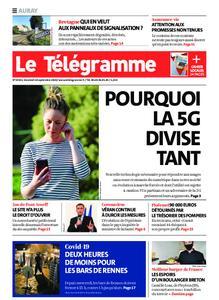 Le Télégramme Auray – 18 septembre 2020