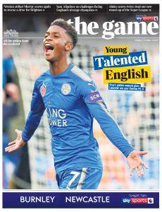 The Times - The Game - 30 October 2017