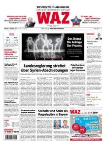 WAZ Westdeutsche Allgemeine Zeitung Oberhausen-Sterkrade - 05. Dezember 2017