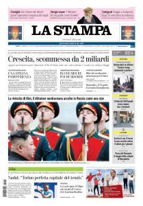 La Stampa Roma - 25 Aprile 2019
