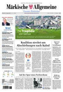 Märkische Allgemeine Zossener Rundschau - 15. August 2018