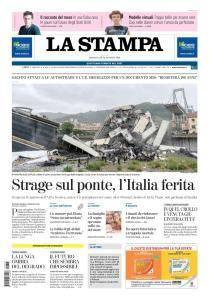 La Stampa Torino Provincia e Canavese - 15 Agosto 2018