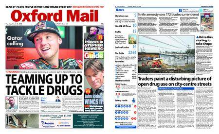 Oxford Mail – March 15, 2018