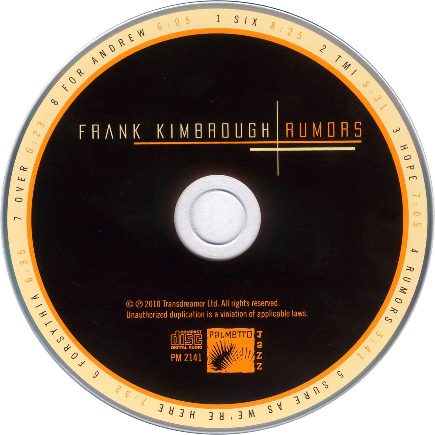 Frank Kimbrough - Rumors (2010)