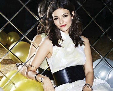 Victoria Justice by Marcus Mam for Cosmopolitan January 2015